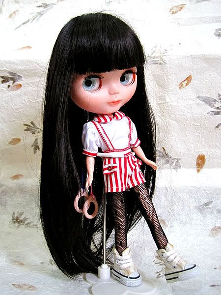 OOAK12 Basaak CCE Practice Custom Blythe Art Doll SO CUTE NO
