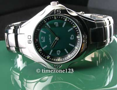 MENS LORUS STAINLESS STEEL MULTI COLOR WATCH NEW LR0806 679324049370